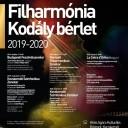 Filharmónia - Kodály bérlet